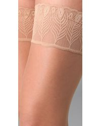 Falke Natural Lunelle 8 Peacock Stay Up Tights