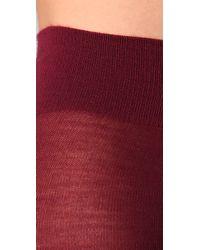 Falke | Purple Soft Merino Tights | Lyst