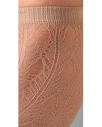 Falke - Natural Net Crochet Tights - Lyst