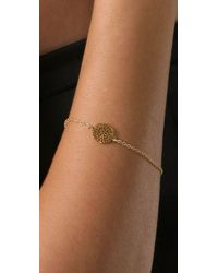 Gorjana | Metallic Acacia Charm Bracelet | Lyst