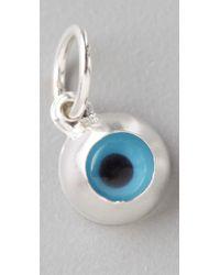Helen Ficalora - Metallic Evil Eye Charm - Lyst