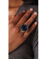 House of Harlow 1960 - Metallic Antler Ring with Round Cabochon - Lyst
