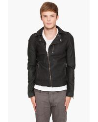 IRO | Green Dario Leather Jacket for Men | Lyst