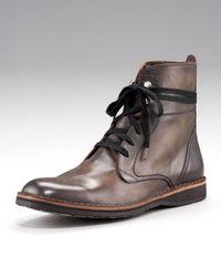 John Varvatos Gray Winter Convertible Hipster Boot for men