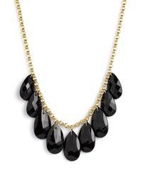 kate spade new york | Black Cascade Short Necklace | Lyst