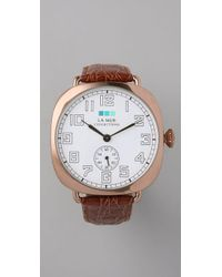 La Mer Collections - Pink Vintage Oversized Watch - Lyst