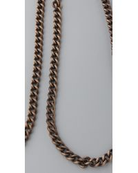 Luv Aj - Metallic Heavy Metal Body Chain - Lyst