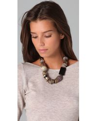 Madewell Black Statement Combo Necklace
