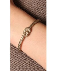 Madewell | Metallic Nautical Knot Bracelet | Lyst