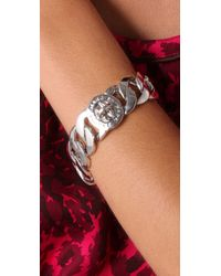Marc By Marc Jacobs - Metallic Katie Turnlock Bracelet/silvertone - Lyst