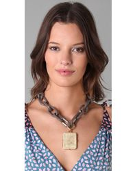 Marc By Marc Jacobs - Metallic Faceted Jessica Necklace - Lyst