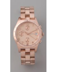 Marc By Marc Jacobs | Pink Henry Chronograph Watch | Lyst