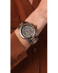 Michael Kors | Black Oversized Runway Watch | Lyst