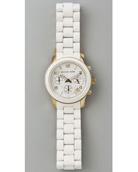Michael Kors White Jet Set Watch