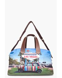 Paul Smith Multicolor Mini Las Vegas Flight Bag for men