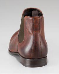 Prada - Brown Gored Boot for Men - Lyst