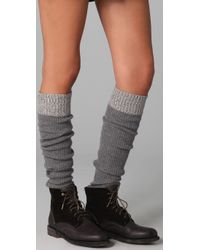 Rag & Bone | Gray Shoreditch Legwarmers | Lyst