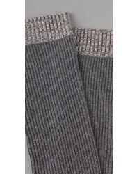 Rag & Bone | Gray Shoreditch Legwarmers | Lyst