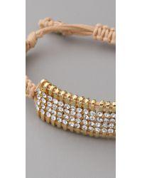 Shashi | Metallic Delicate Shashi Bracelet | Lyst