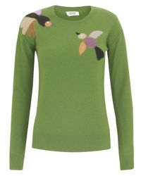 Sonia by Sonia Rykiel | Green Pistachio Bird Jumper | Lyst