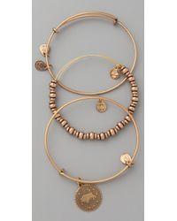 ALEX AND ANI - Metallic Zodiac Bracelet Set - Lyst