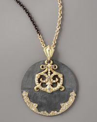 Armenta - Metallic Round Gypsy Enhancer - Lyst