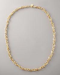 Ashley Pittman - Metallic Bronze Snake Chain - Lyst