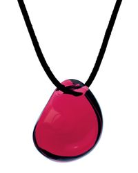 Baccarat - Red Galet Pendant, Ruby - Lyst