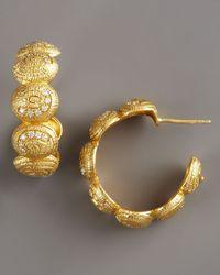 Coomi | Metallic Eternity Seven-oval Hoop Earrings | Lyst