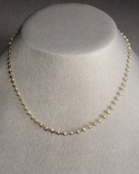 Coomi - Metallic Gray Diamond Necklace - Lyst