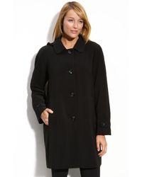 Gallery | Black Nepage Hooded Coat | Lyst