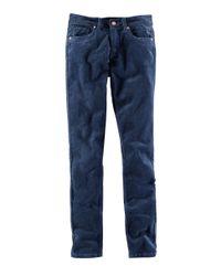 H&M Blue Corduroy Trousers