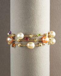 Marco Bicego - Metallic Paradise Pearl Bracelet - Lyst