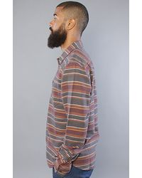 Obey - Gray The Veracruz Buttondown Shirt in Heather Charcoal for Men - Lyst
