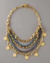 Paige Novick | Metallic Multi-strand Coin Necklace | Lyst
