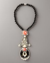 Ranjana Khan | Black Flamingo Pendant Necklace | Lyst