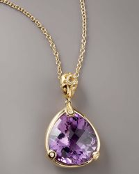 Roberto Coin - Purple Amethyst Mauresque Necklace - Lyst
