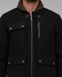 Spiewak | Black Fillmore Coat for Men | Lyst