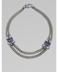 Stephen Webster | Metallic Semi-precious, Multi-stone Two-row Necklace | Lyst