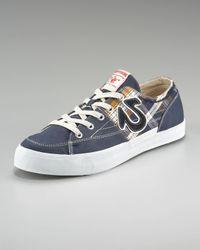 True Religion | Blue Hanabel Plaid Low-top Sneaker for Men | Lyst
