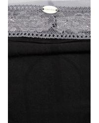Calvin Klein Black Naked Glamour Lace Thong