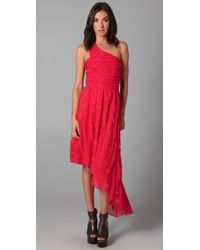 Pencey | Red Party Dress | Lyst
