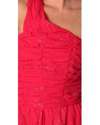 Pencey - Red Party Dress - Lyst