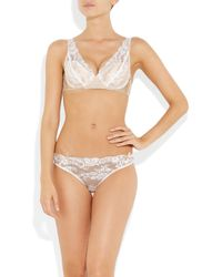 Stella McCartney White Vanessa Loving Lace Briefs