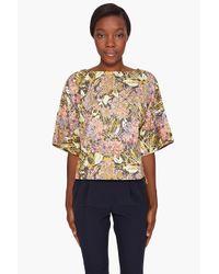 SUNO | Multicolor Kimono Top | Lyst