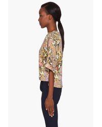 SUNO - Multicolor Kimono Top - Lyst