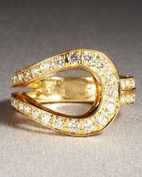 Di Modolo Metallic Fiama Ring