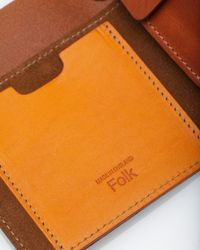 Folk | Brown Burts Wallet for Men | Lyst