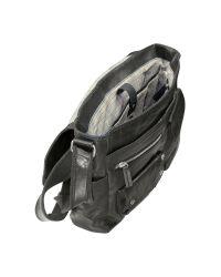 Fossil Brown Decker Ew - Leather Messenger Bag for men