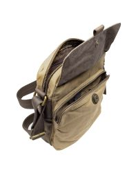 Fossil   Natural Wagner - Brown Canvas City Bag for Men   Lyst